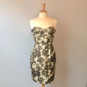 J. Crew Ikat Bustier Dress - Size 4
